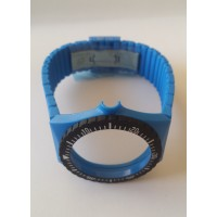 Fortis Strap Blue Rubber, COLORS