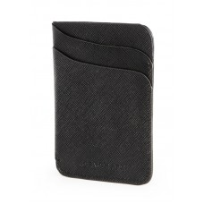 Jos Von Arx Gents Black Leather evening Wallet, IL34