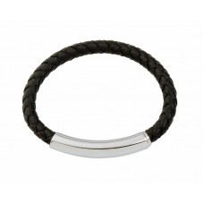 Jos Von Arx Gents Bracelet made of Black Solid Brass With Pvd Plating Pvd Black, COB01