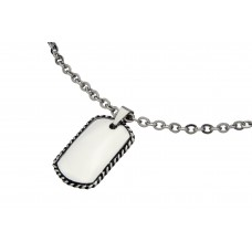 Jos Von Arx gents pendant made of Stainless Steel, PEN24