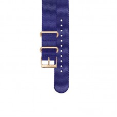 Manfred Cracco Strap Blue Nylon