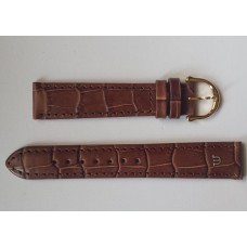 Maurice Lacroix leather Strap Tobacco Croco imitation