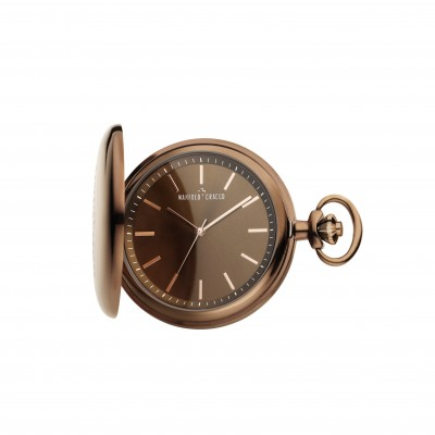 Manfred Cracco pocket watch Serlock MCPOCKETBRWN